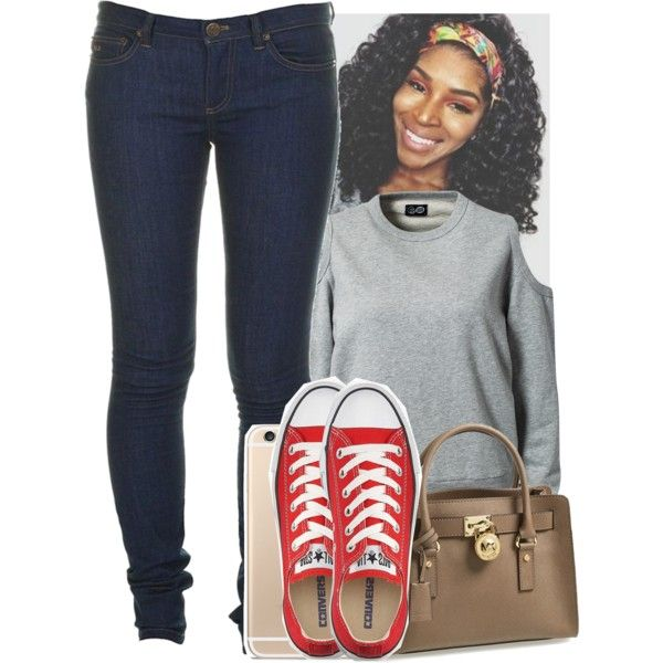 A fashion look from September 2014 featuring long sleeve shirts, blue jeans and converse sneakers. Browse and shop related looks.