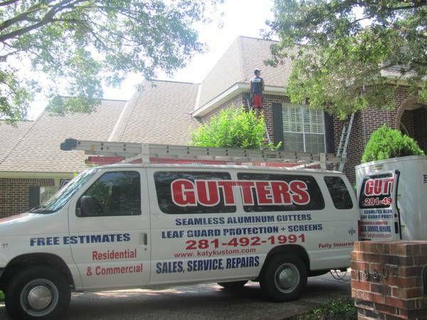 Gutter Installation Katy Kustom Gutters Seamless Gutters Gutters How To Install Gutters