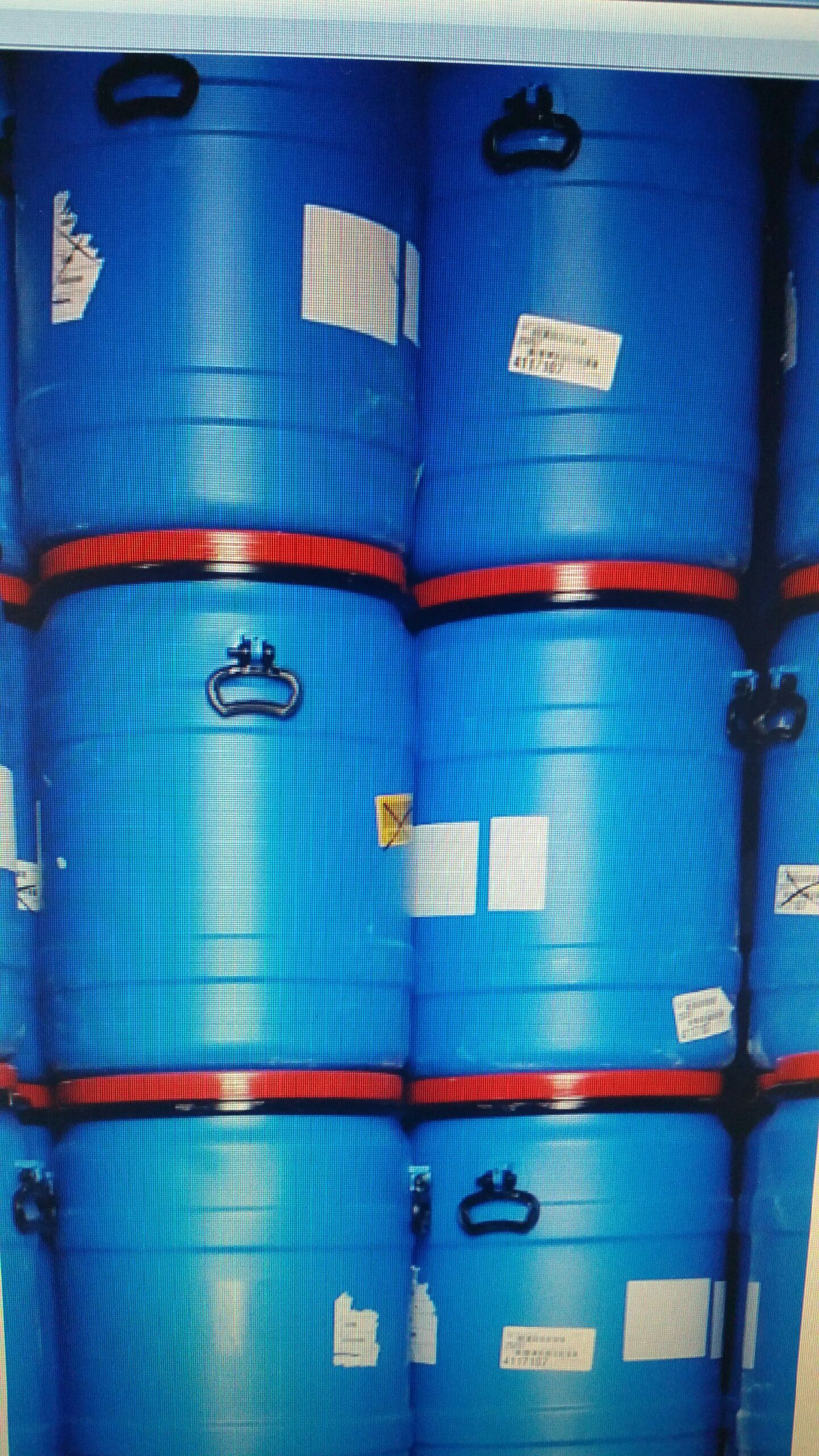 40 Gallon Food Grade Plastic Drum 40 Gallon Plastic Barrels Open Top With Lid And Clamping Ring And Two Handles Some Plastic Drums Rain Barrel Water Storage
