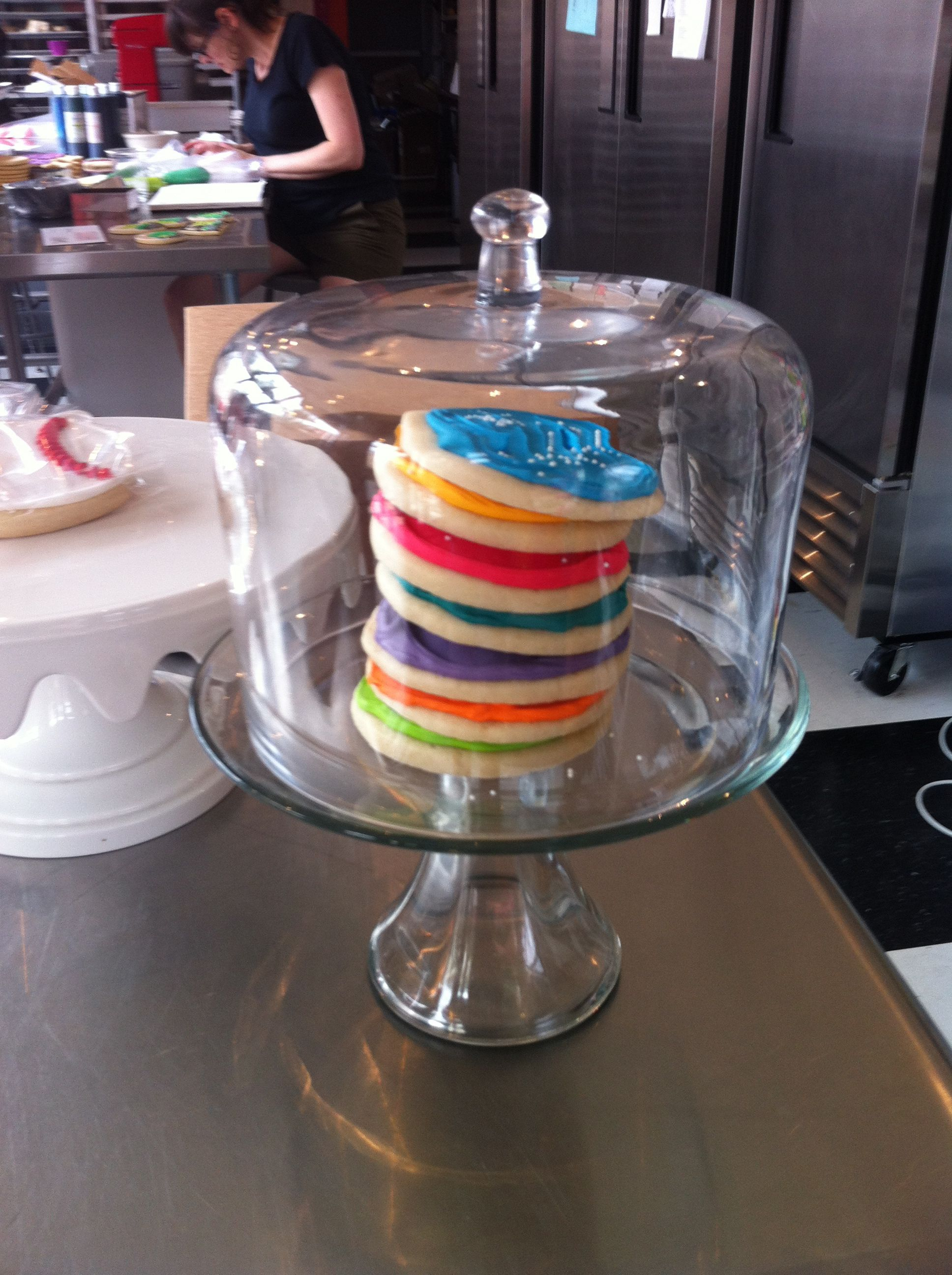 Cookies from whipped cake cake stand cookies