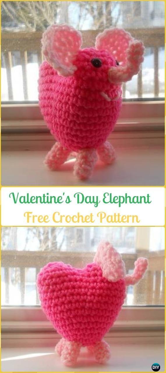Crochet Elephant Softie and More Free Patterns | Niños lindos ...