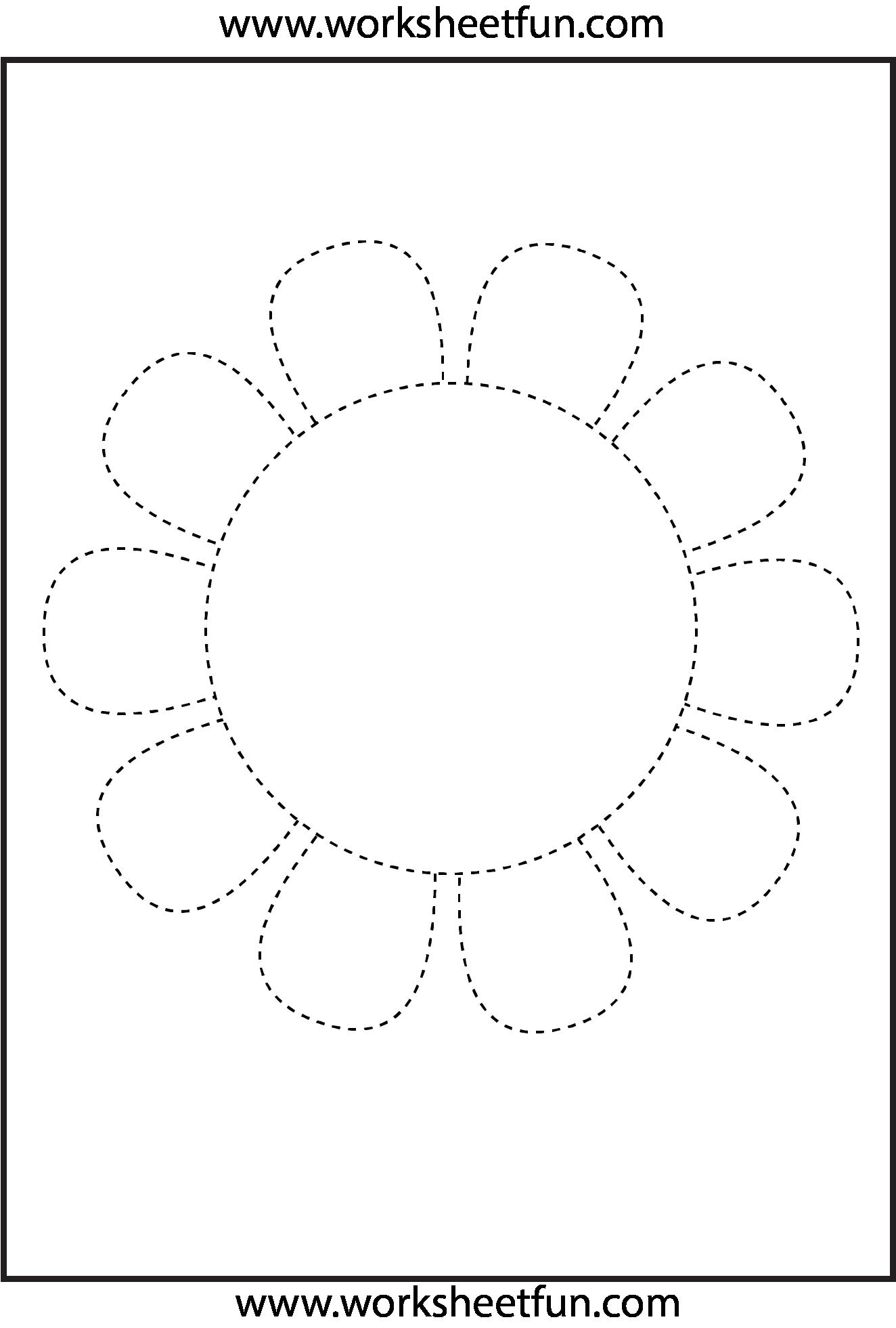 Picture Tracing 1 Worksheet Fichas De Trabalho Ideias Para A Sala De Aula Desenhos Pontilhados [ 1961 x 1324 Pixel ]