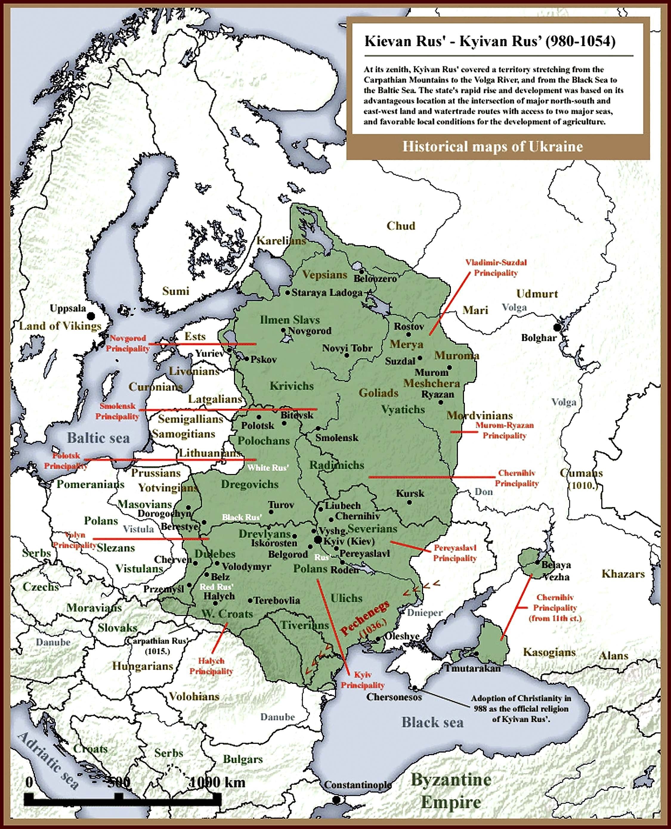 Maps R Us Win for history in Ukraine: Kyivan Rus archeology site to become