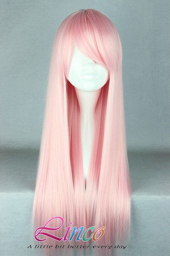 70cmlonglightpinkbeautifulcosplay Accessory By Lincofashionwigs 19 99 Pink Wig Wigs Anime Wigs