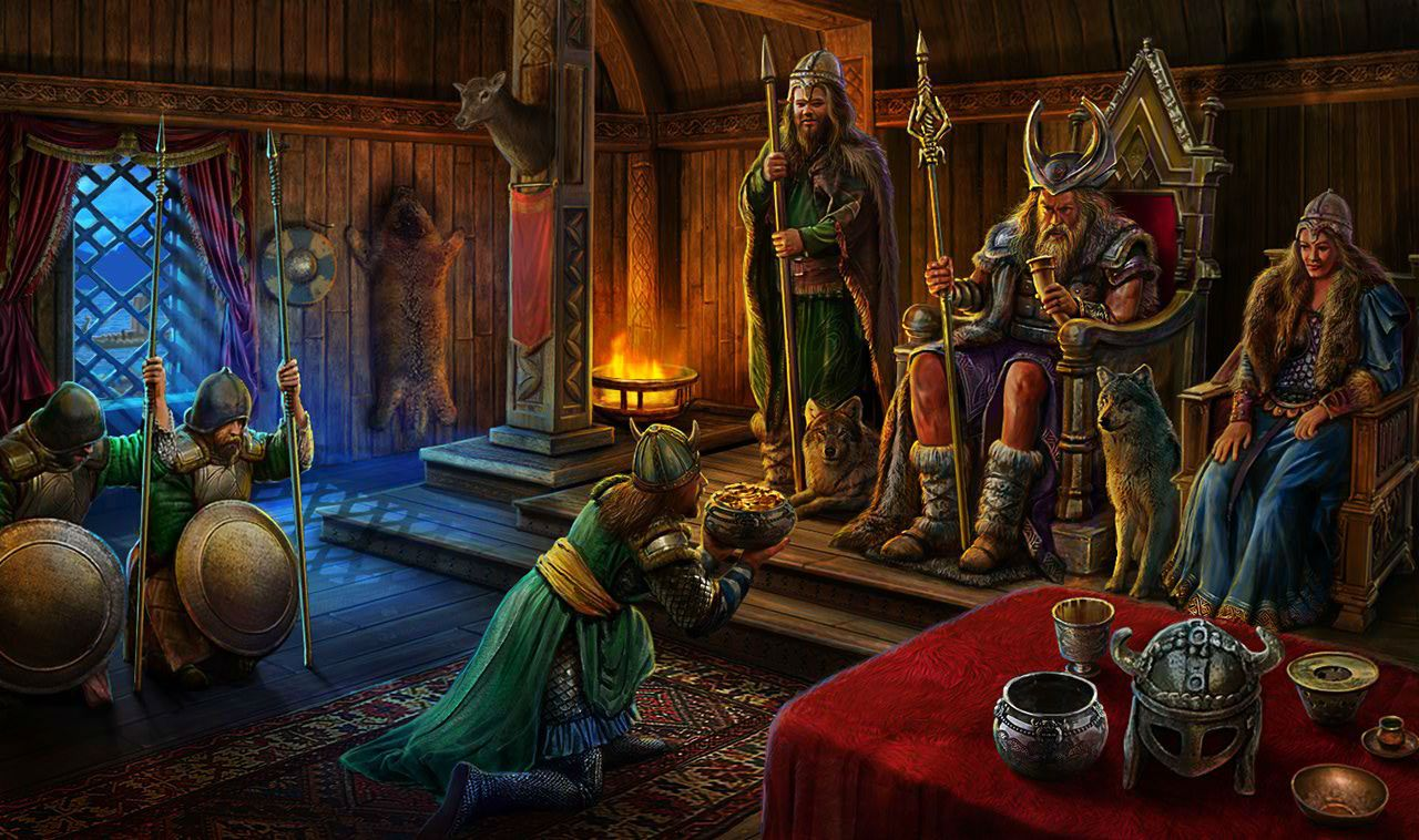 Gardens of Time   Odin\'s Throne Room   Game - Gardens of Time ...