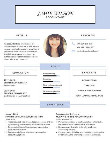 Modern Lilac Corporate Resume Resume Templates Resume Modern Resume Template