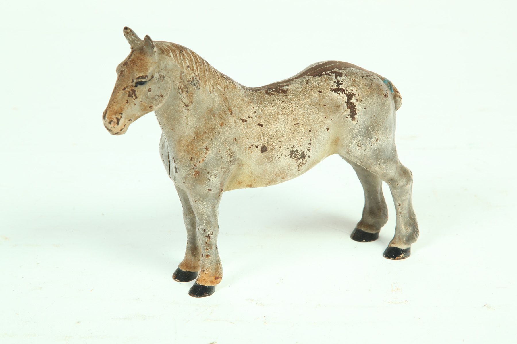 Sold For 400 Cast Iron Horse Doorstop American Early