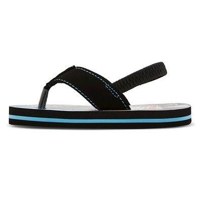 ed7d75acea Toddler Boys  Star Wars Flip Flop Sandals - Blue Black M (7-8 ...