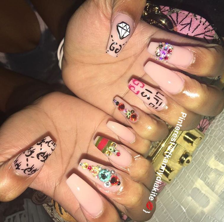 Are you looking for acrylic coffin nail color designs for fall and winter?  See our collection full of cute acrylic coffin nail color design ideas and  get ... - Pinterest@{kannydiakite} Nαιℓѕ✨ Pinterest Coffin Nails