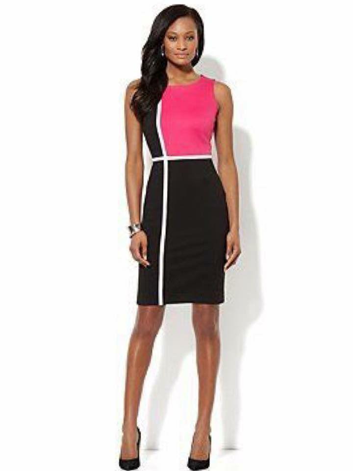 d381c8681787db Michael Barnaart van Bergen Mondriaan - rechte jurk dress ...