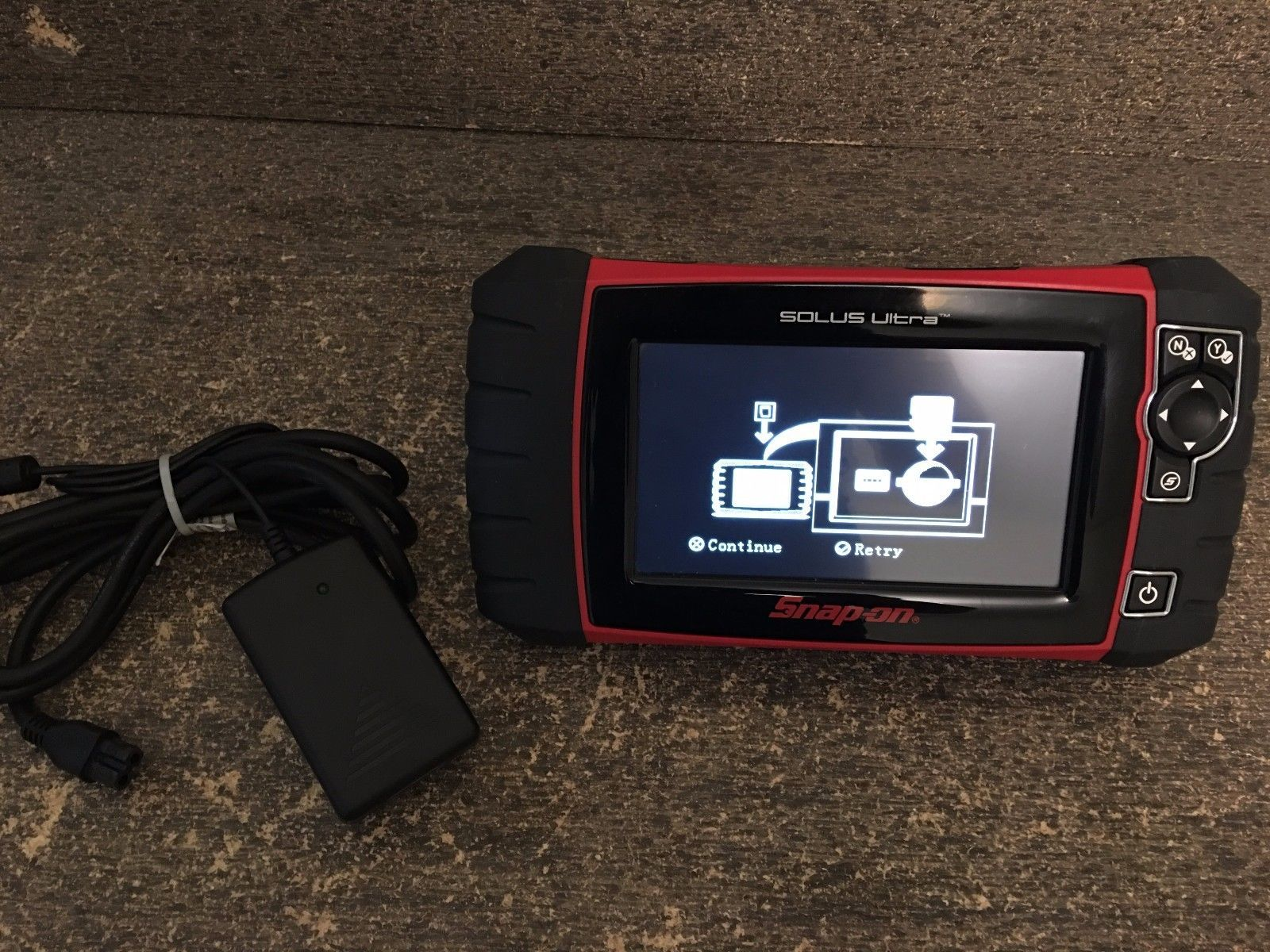 AS-IS Snap On Solus Ultra EESC318 Automotive Scan Tool NO SOFTWARE
