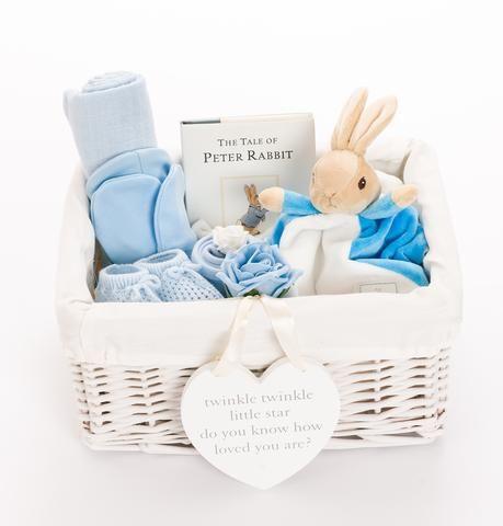 Peter Rabbit Baby Hamper Baby Boy Baby Boy Gift Baskets Baby Shower Hamper Baby Hamper