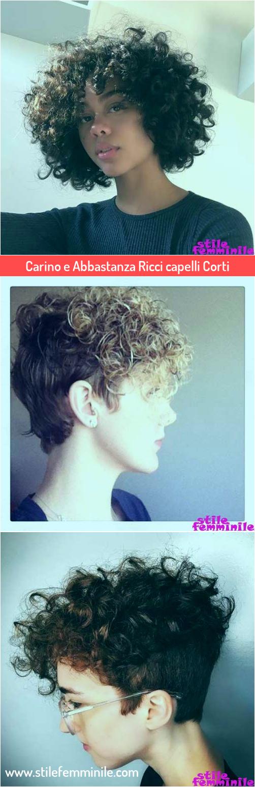 Photo of Carino e Abbastanza Ricci capelli Corti