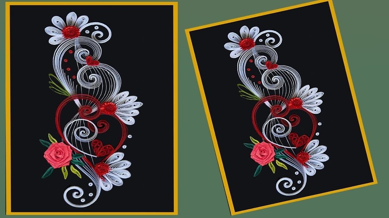 Quilling Awesome Quilling Paper Flower Making Tutorial Paper