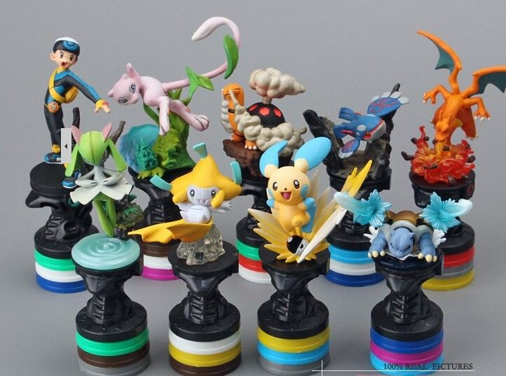 7 cm Anime Cartoon Mini Pokemon Monster acción PVC juguetes figuras Mini muñecas juguetes clásicos 10 unids/set regalo navidad en Juguetes y Figuras de Acción de Juguetes y Aficiones en AliExpress.com   Alibaba Group