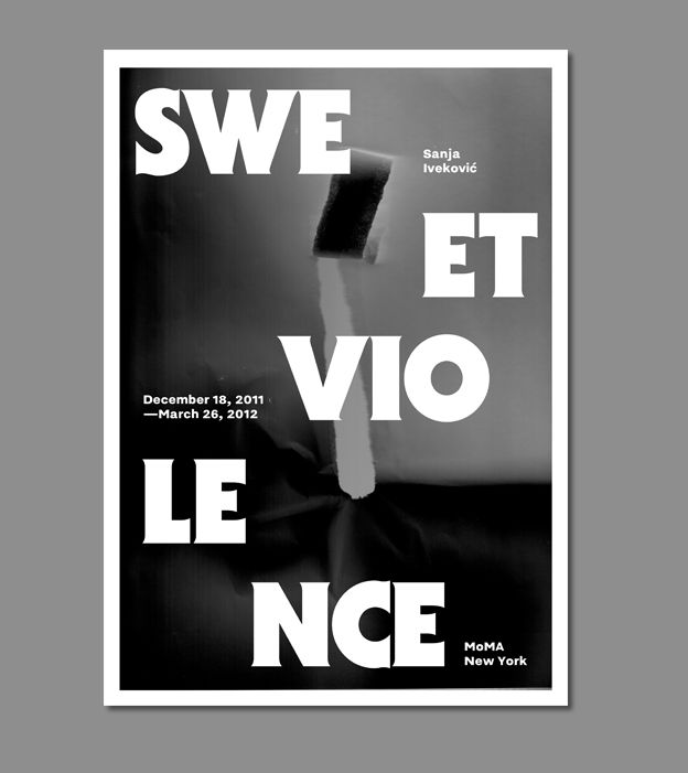 source:  theposterdiary // sweet violence // MoMa NY ///