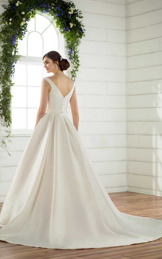 Modest Traditional Wedding Dress