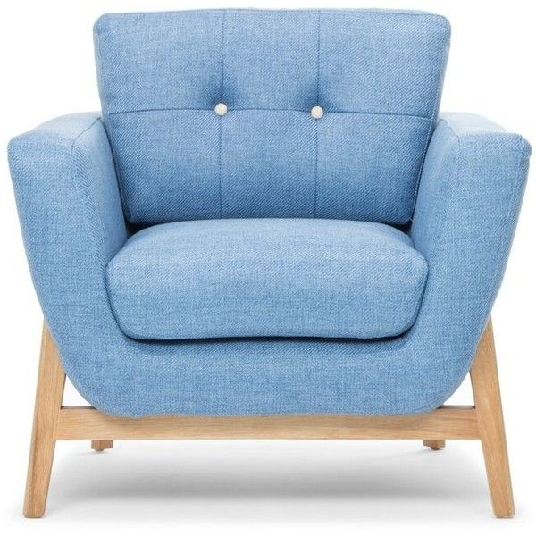 Best Tess Armchair Denim Blue 715 Liked On Polyvore 400 x 300