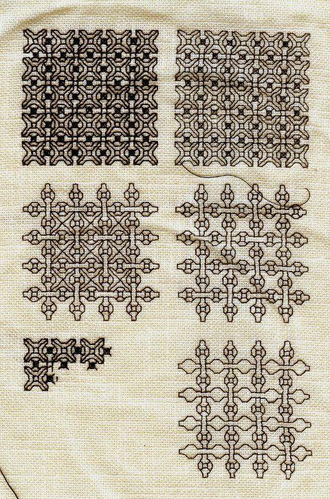 A Loss And A New Beginning Blackwork Patterns Blackwork Cross Stitch Blackwork Embroidery