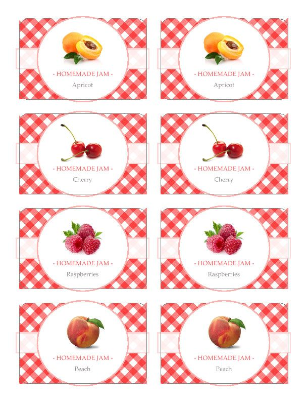Google pinterest for Jelly jar label template