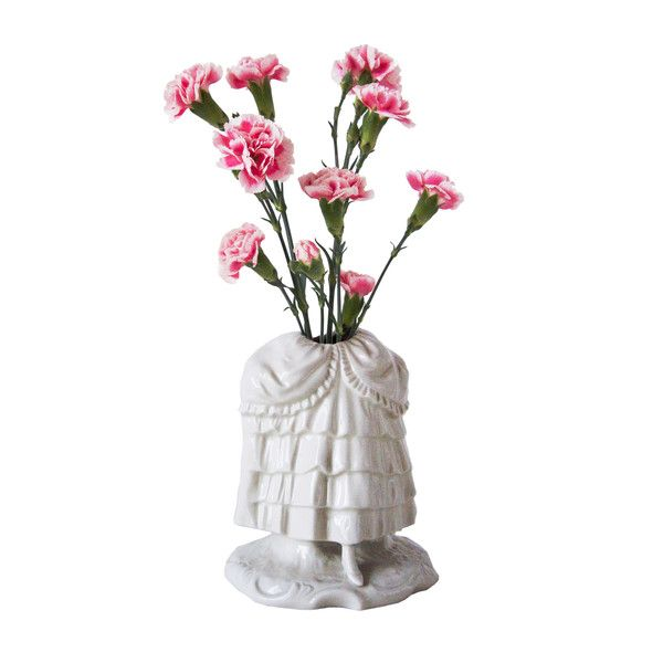 Cinderella Porcelain Vase (250 CAD) ❤ liked on Polyvore featuring home, home decor, vases, porcelain vase, traditional home decor and porcelain figurine