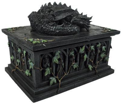 Dragon Tarot Card Box - Nemesis Now 25,99 e