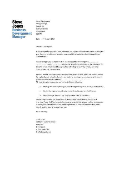 Business Development Manager Resume Sample Offer Letter For Business Development Manager Are Grateful