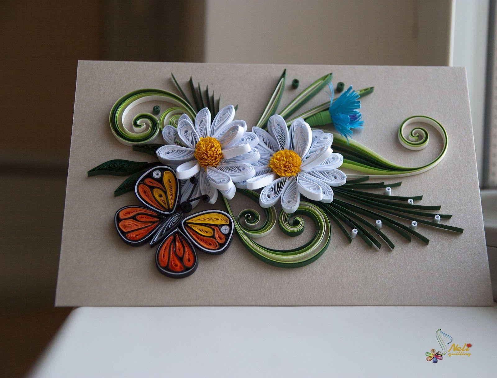 семилетнем возрасте открытки квиллинг для продвинутых животных растений