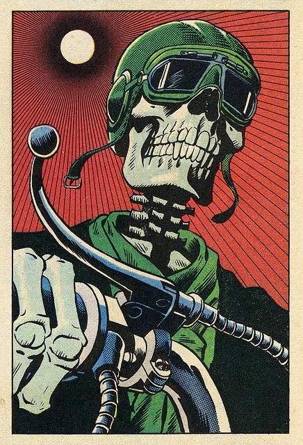 Died To Be Wild Skull art, Pop art, Biker art