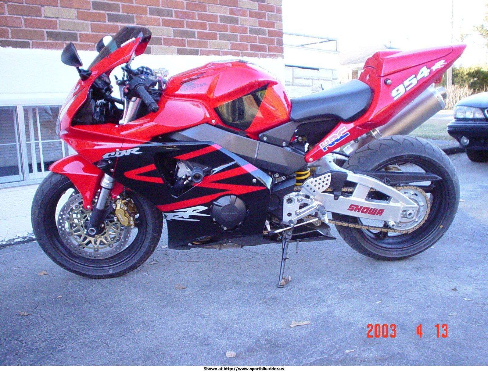 2002 cbr 954 rr fireblade