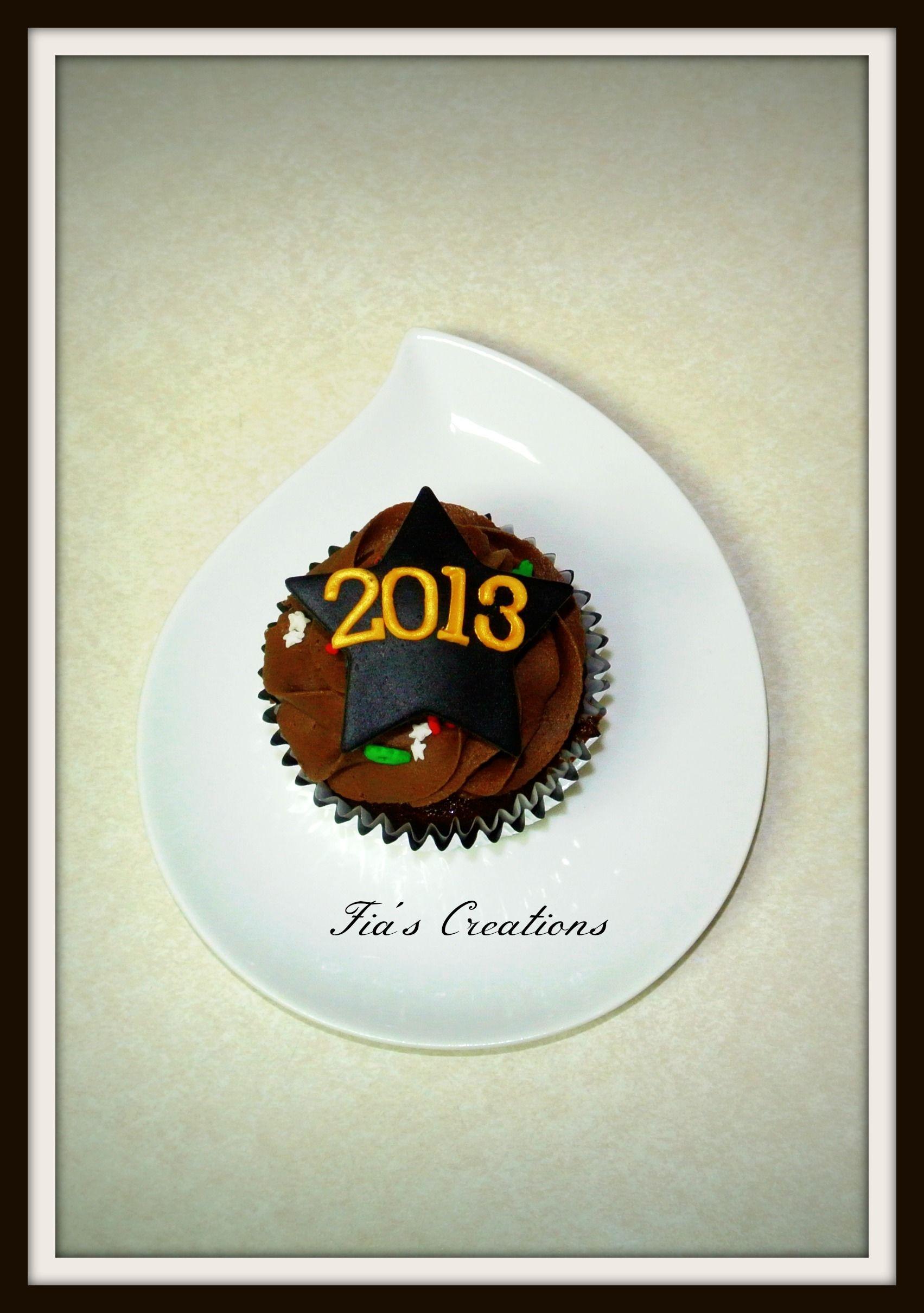 New Years Cupcake.    TFL!