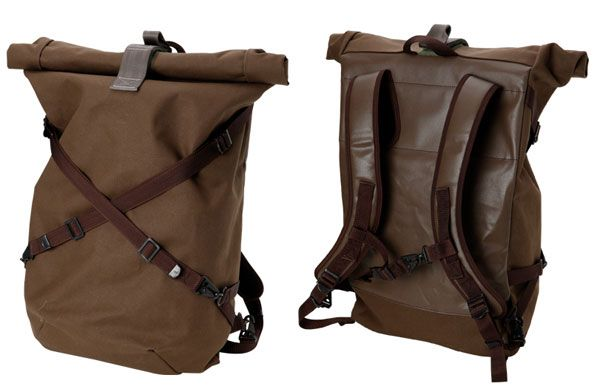 #FredPerry Randsell Roll Top Backpack