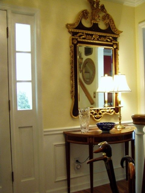 Foyer Entrance Exam : Renovation of the entry foyer foyers beautiful mirrors