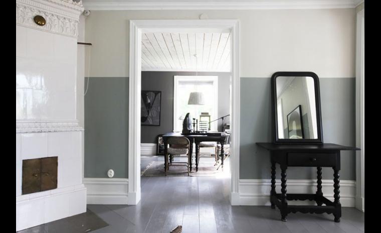 Peindre ses murs deux couleurs 10 idées Décoration intérieure