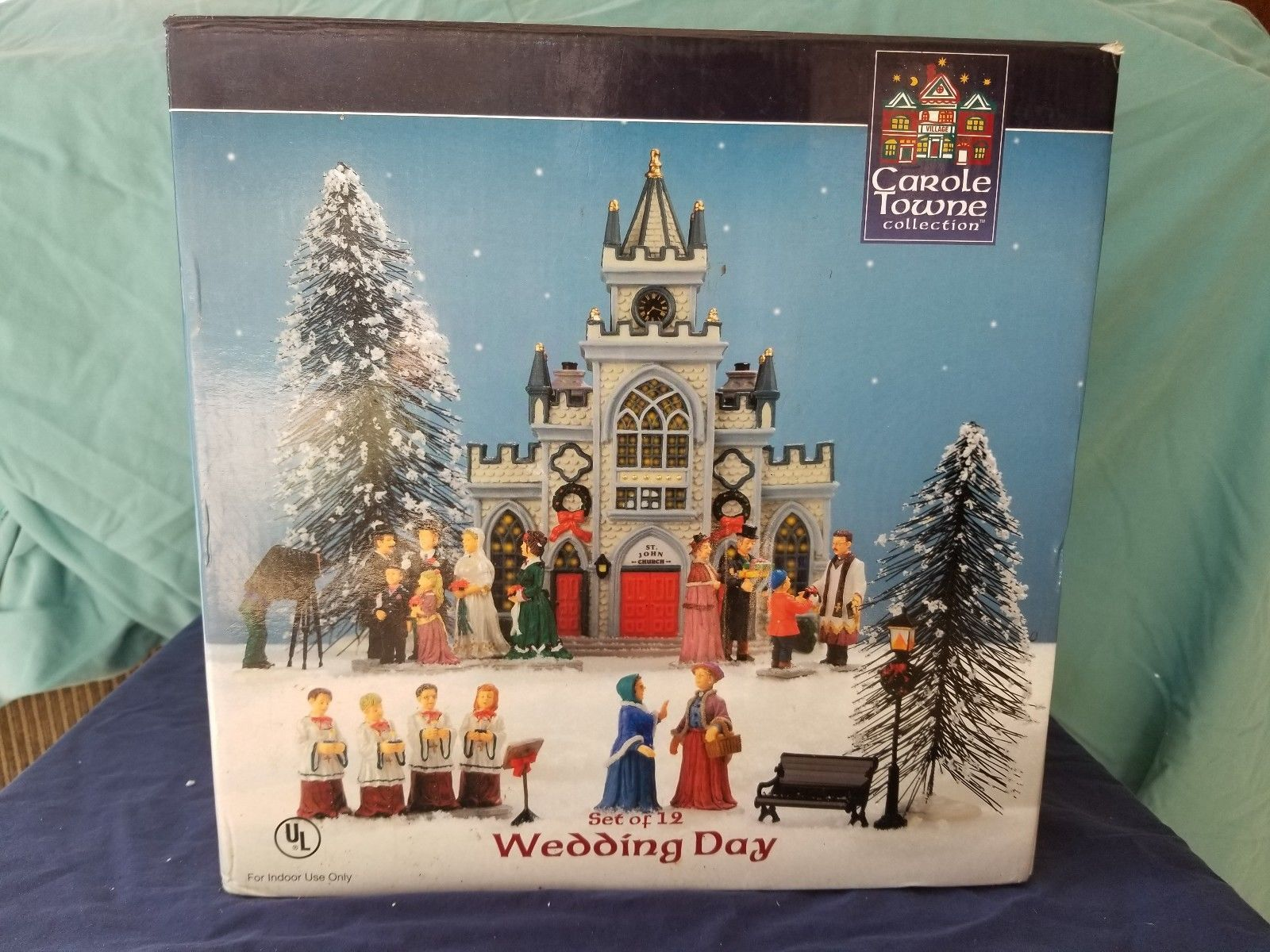 Is Lowes Open On Christmas Day.Wedding Day 12 Pc Lemax Carole Towne Village For Lowes 2002