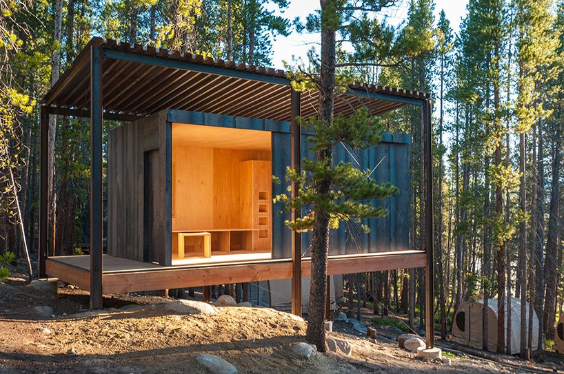 colorado building workshop constructs 14 micro cabins