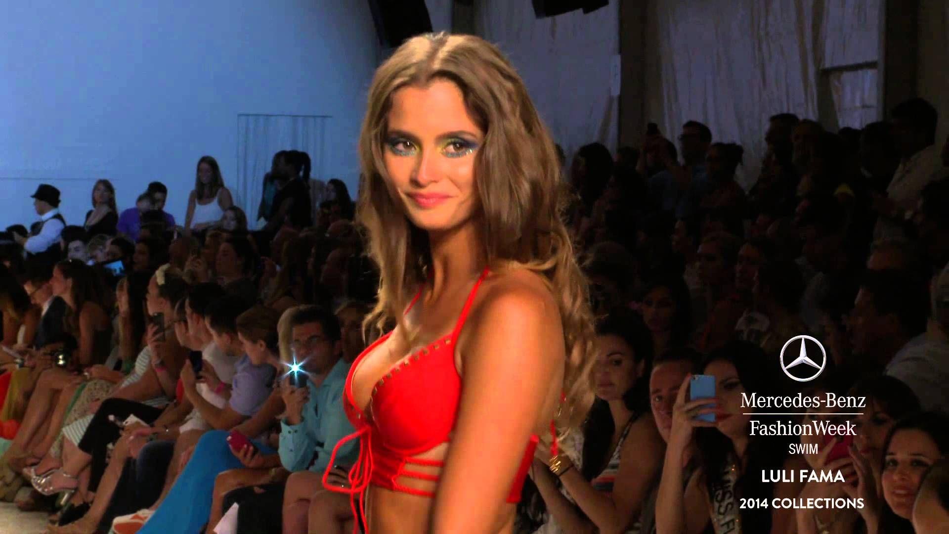 Fashion style Benz mercedes miami fashion week swim for woman