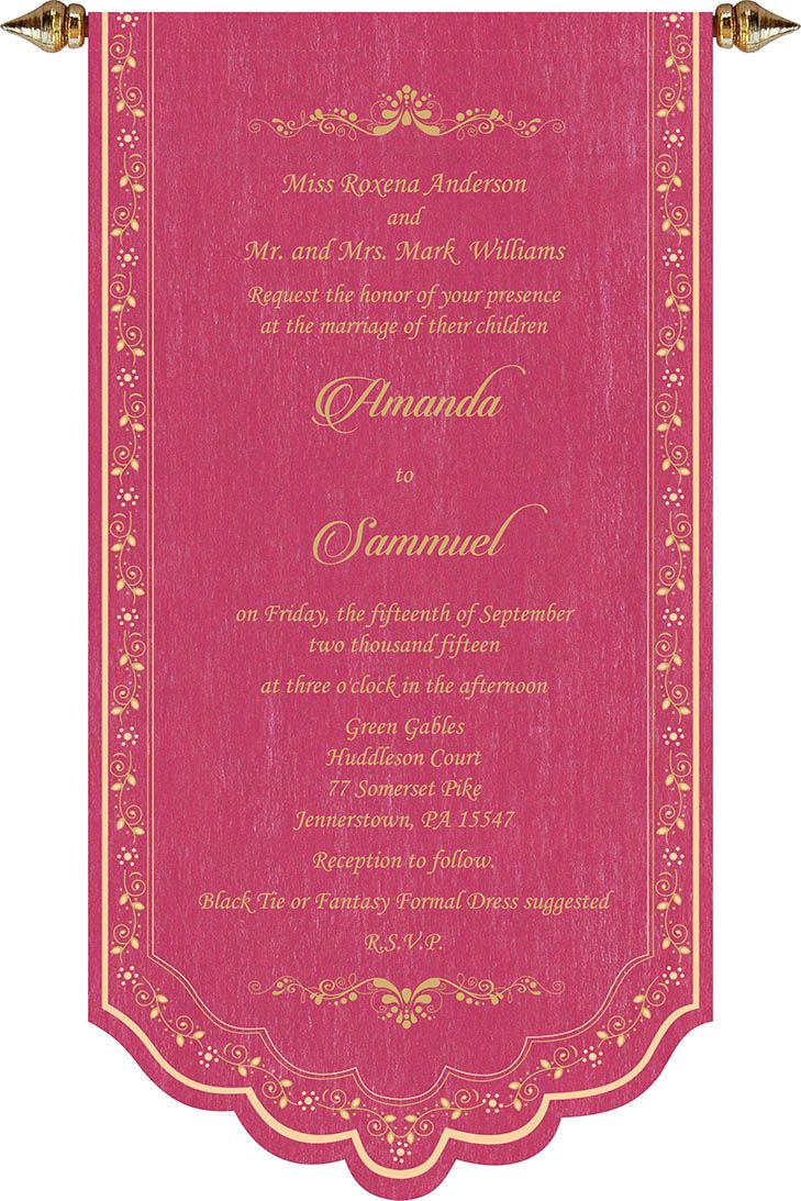 Wedding Invitation Wording For Christian Wedding Ceremony ...