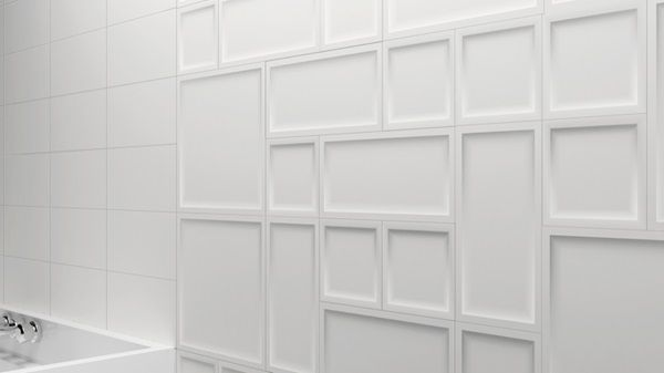 Essential By Inedita Wall Tile Inset Matte White Or Gloss White 5x5 5x10 10x10 Walk In Shower Designs Walk In Shower Wainscoting Wall