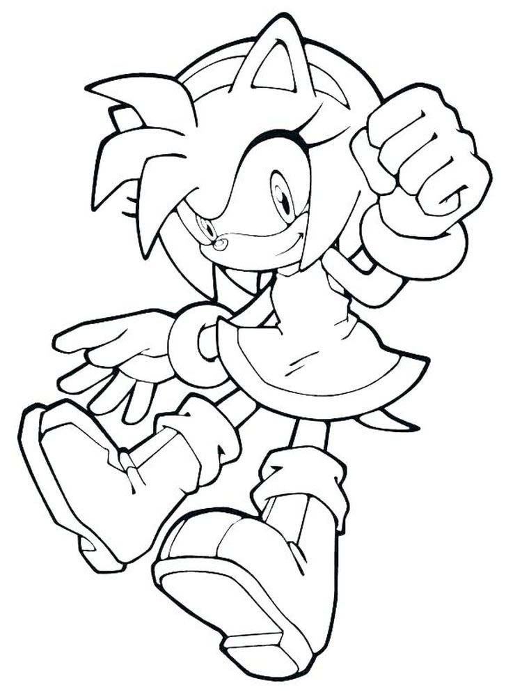 Coloring Pages Of Sonic The Hedgehog When Viewed From Its Appearance Hedgehogs Are Similar To Mice Bu In 2020 Rose Coloring Pages Coloring Pages Mario Coloring Pages