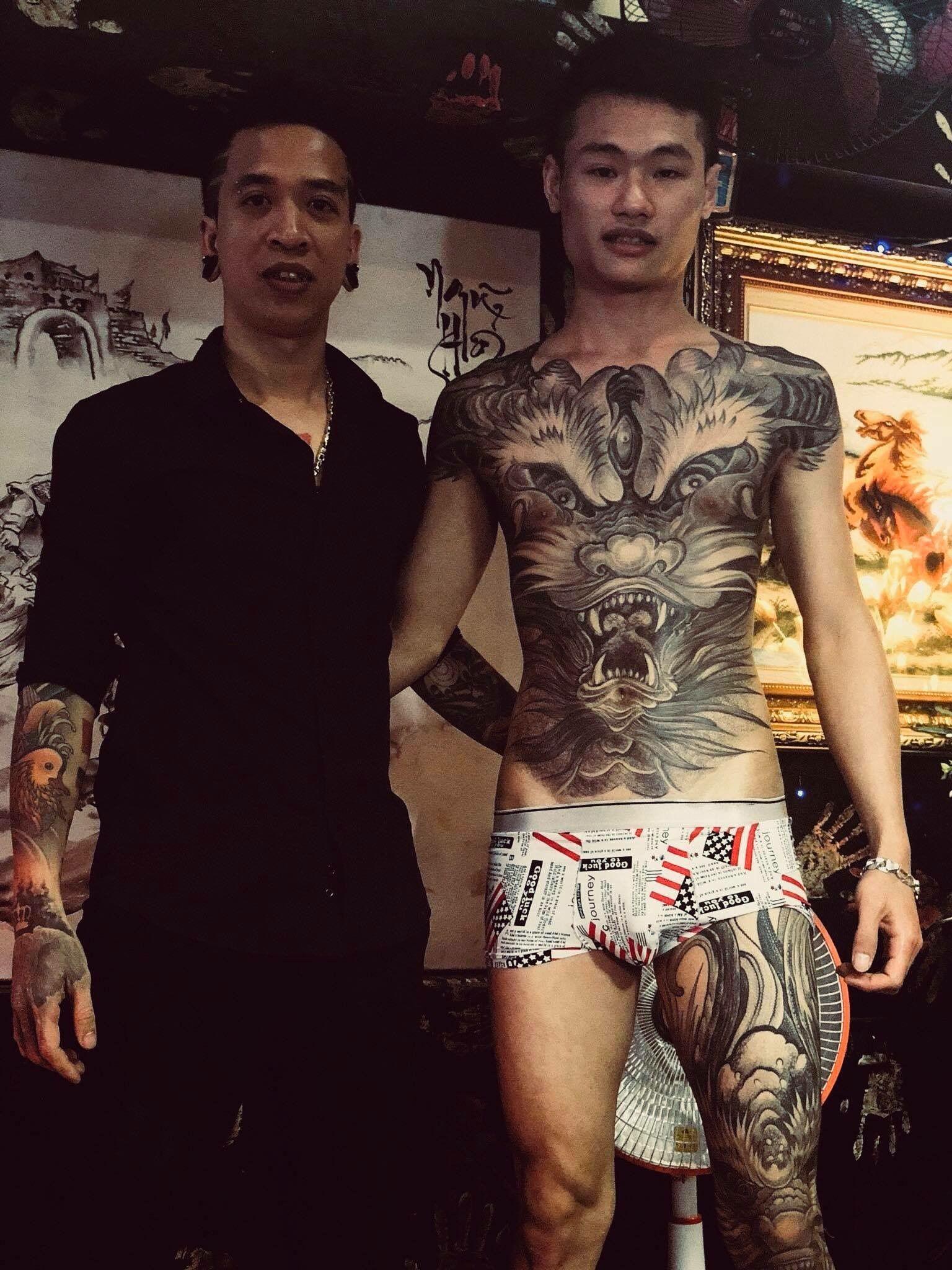 Man Yakuza Cigar Tattoo: Getting Inked: How Tattoos Became Popular