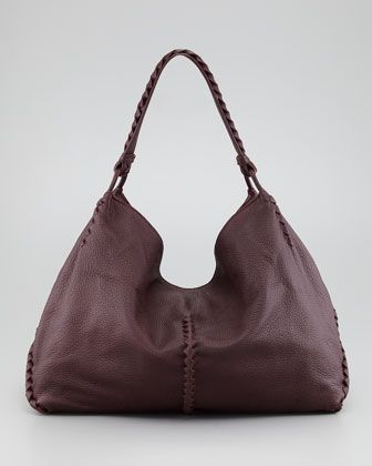 Cervo Shoulder Bag by Bottega Veneta in Mahogany  1 c7aec04951c02