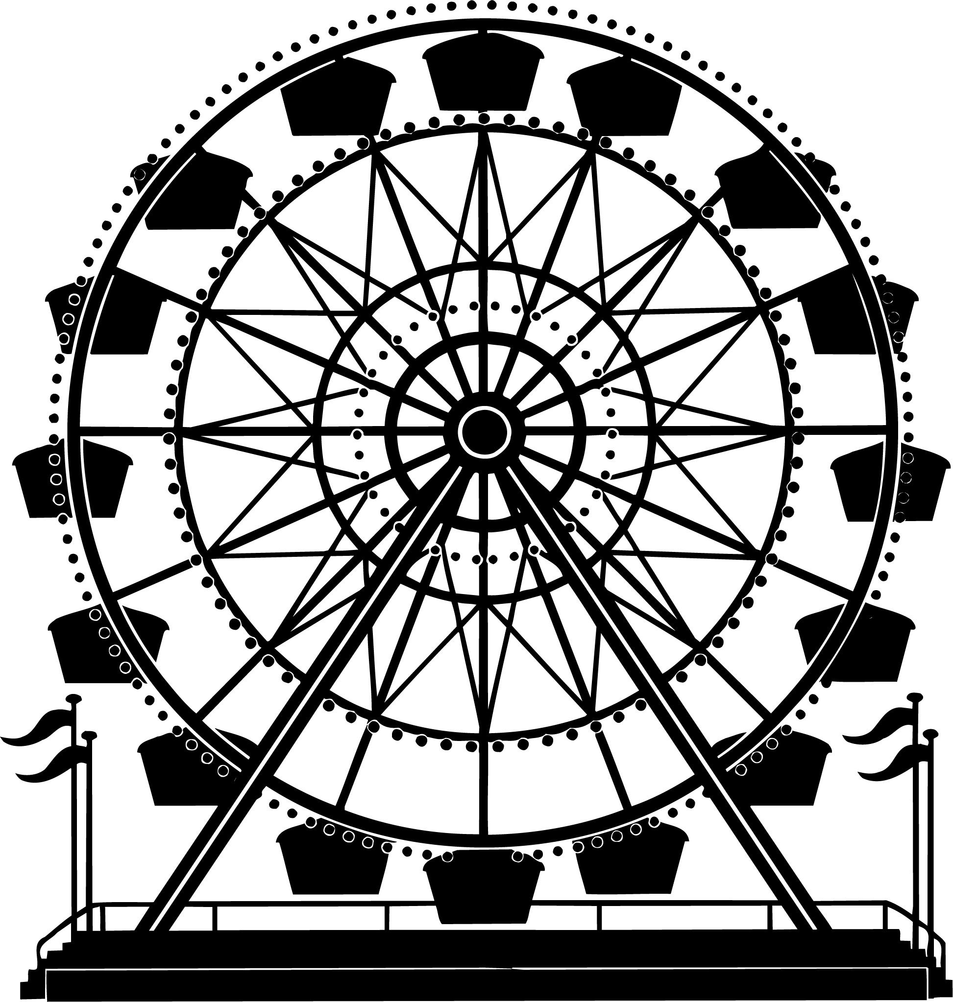 Ferris Wheel Vector Cartoon Art Designs Compilation We Are Currently Seeking Graphic Designers And Sales People To Join Our Team Http Keithhoffart Weebly Com