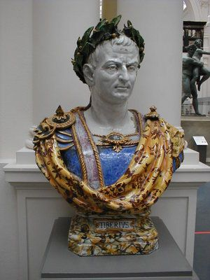 Claudius (Latin: Tiberius Claudius Caesar Augustus Germanicus)(1 August 10 BC – 13 October AD 54), was Roman Emperor from 41 to 54. A member of the Julio-Claudian dynasty, he was the son of Drusus and Antonia Minor