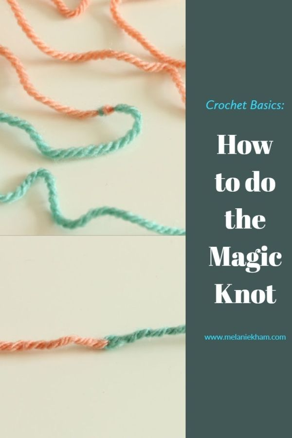 Crochet Basics: The Magic Knot - Easy way to Join Yarn for Knitting and Crochet
