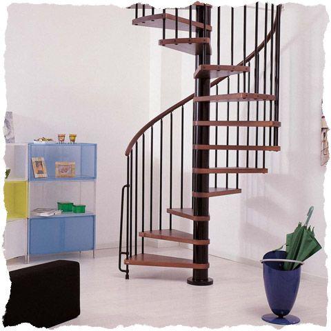 Klan spiral staircases