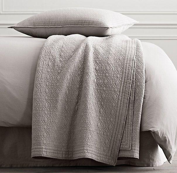 Heirloom Quilt Sham From Restoration Hardware Lavish Linens