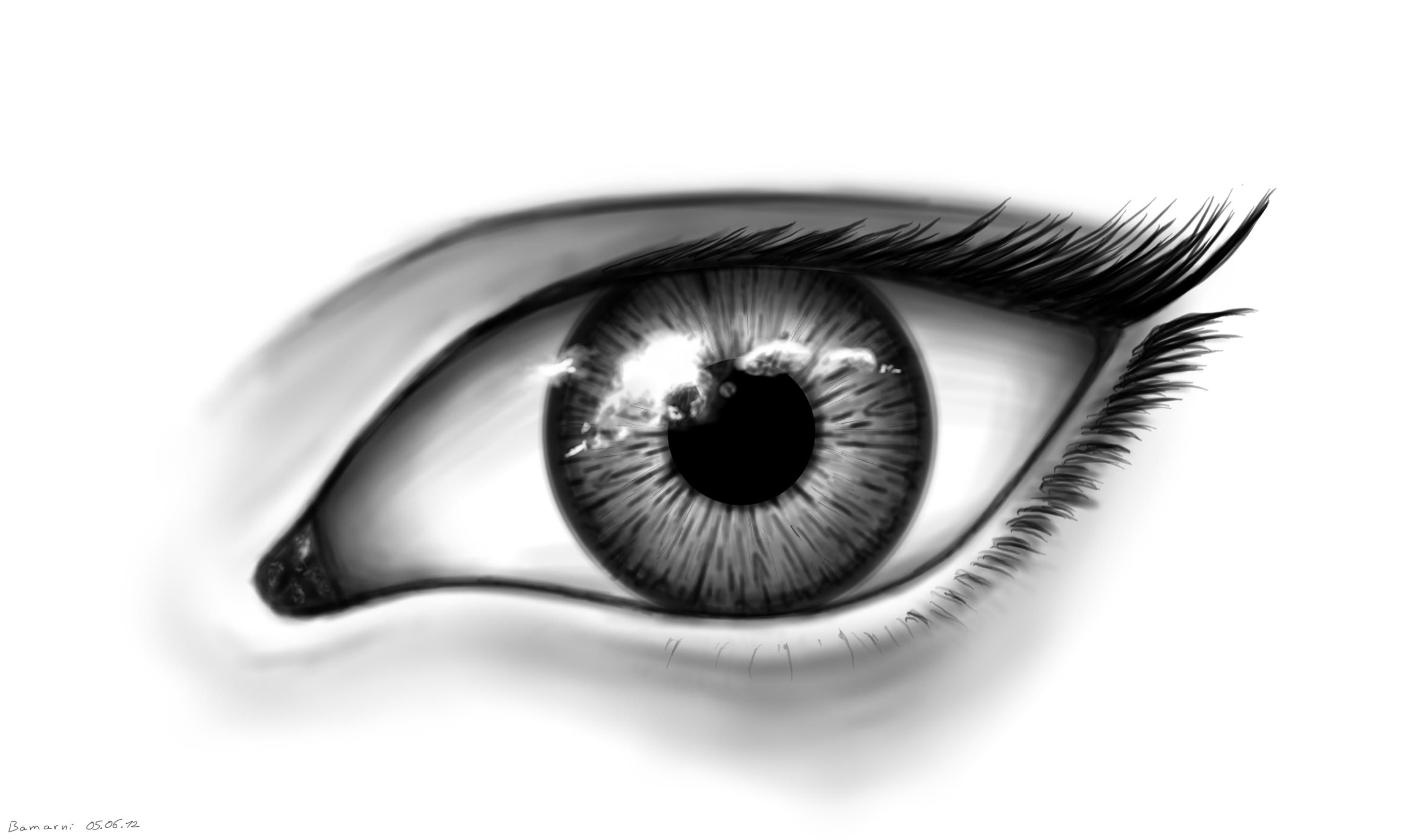 Eyes black and white google search