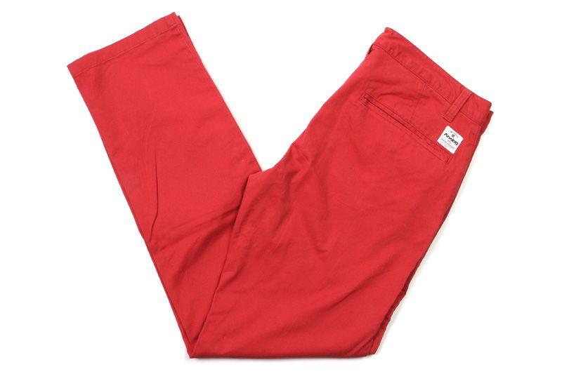 ANALOG | AG CHINO | RED | $65.00