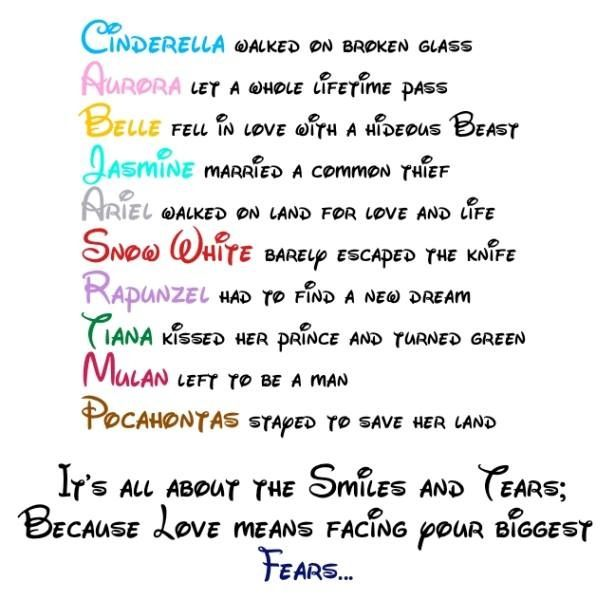 news and pictures of disney love quotes disney princess love quote disney princess fan art 24262098 image by www